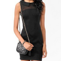 Collared Bodycon Dress
