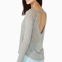 Warm Shadow Knit - Gray