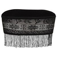 Lace Bandeau with Fringing - New In This Week - New In - Topshop USA