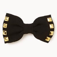Studded Bow Hair Clips | FOREVER 21 - 1055533845