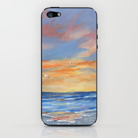 Sunset Reflections iPhone & iPod Skin by Rosie Brown
