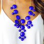 The Royal Blue Crew Necklace | Hope's