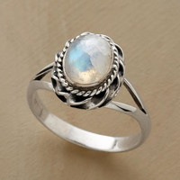 REACH FOR THE MOON RING         -                  Rings         -                  Jewelry                       | Robert Redford's Sundance Catalog