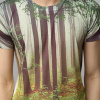 Woods Allover Tee