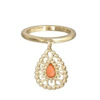 Caden Ring in Coral - Kendra Scott Jewelry