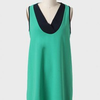 Tennis Club Colorblocked Shift Dress at ShopRuche.com