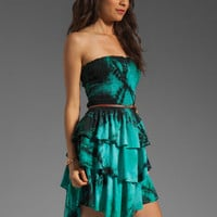 Patterson J. Kincaid Bloom Dress in Teal Multi from REVOLVEclothing.com