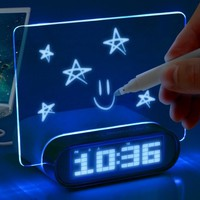 Glowing Memo Alarm Clock