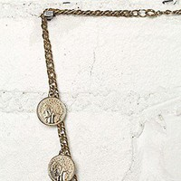 Free People  Vintage Coin Necklace at Free People Clothing Boutique