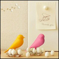 Sparrow Egg Magnet Bird Holder For Notice Board Fridge Refrigerator Home Office
