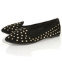 VECTRA5 Gold Studded Slippers - View All  - Shoes