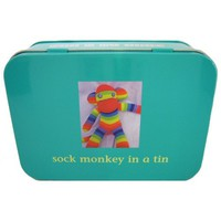 Sock Monkey In a Tin