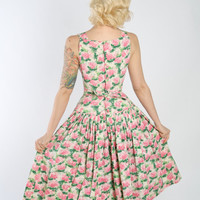 1950s Dress // vintage 50s dress // Betty Loves Don