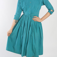 1950s Dress // vintage 50s DORIS FEIN // One Fine Day