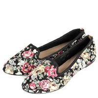 VECTRA5 Floral Stud Slippers - Flats - Shoes - Topshop USA