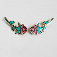 Lazy Oaf | Rose Collar Pin Set