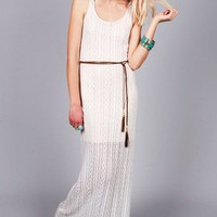 Bohemian Spirit Maxi Dress | Lace Dresses at Pink Ice