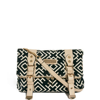 River Island Aztec Print Cross Body Bag