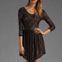 Lovers + Friends Senorita Mini Dress in Black Lace from REVOLVEclothing.com