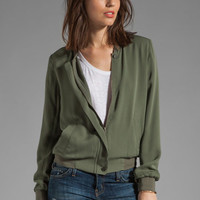 Joie Empire Jacket in Fatigue from REVOLVEclothing.com