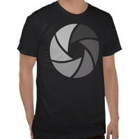 Aperture Photography T Shirt from Zazzle.com