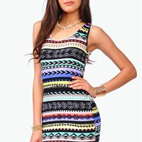 Southwest Dress - Multi