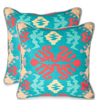 Rye Pillow (Set of 2) by Safavieh Pillows at Gilt