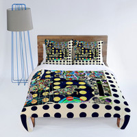 DENY Designs Home Accessories | Randi Antonsen Polka Dot Fun Duvet Cover