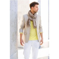 Linen 2-Button Jacket