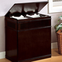 Wood Laundry Hamper at BrookstoneBuy Now!