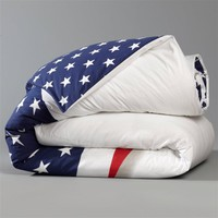 STARS & STRIPES Reversible Cotton Duvet Cover