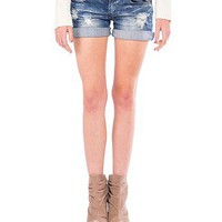 Distressed Denim Shorts- 2020AVE