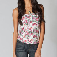 FULL TILT Floral Womens Corset Top 212632151 | Corsets | Tillys.com