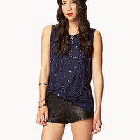 Star Studded Muscle Tee
