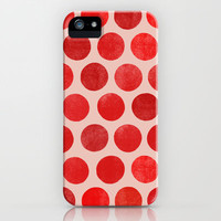 Colorplay Red iPhone & iPod Case by Garima Dhawan