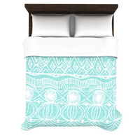 Catherine Holcombe &quot;Beach Blanket Bingo&quot; Duvet Cover | KESS InHouse