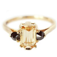 Anna Sheffield Topaz Bea Ring