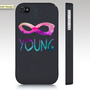 iPhone 5 case, SALE and FREE SHIPPING iPhone 4 case, forever young, infinity hipster, in stock