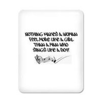Nothing Makes a Woman Feel Quote iPad Case&gt; Nothing Makes a Woman Quoted Products&gt; Rankography Movies Shop