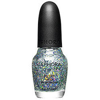 Sephora: SEPHORA by OPI Sparkle Me Silver Top Coat: Nail Polish