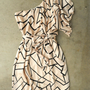 Geometric Angles Dress [3082] - $38.00 : Vintage Inspired Clothing &amp; Affordable Summer Frocks, deloom | Modern. Vintage. Crafted.