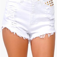 White Out Short - White