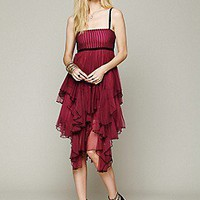 Free People  FP ONE  Mesh Tiered Dress at Free People Clothing Boutique