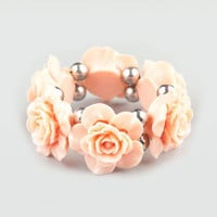 FULL TILT Epoxy Rose Bracelet