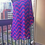Pink Passion Chevron Dress