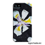 Floral, iPhone 5 Case, Orchid, Funky Abstract Art, iPhone, cases, by Ingrid
