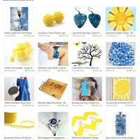 Blue Skies & Sunshine by Heather Jean on Etsy
