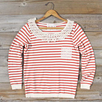 Anchors Away Sweatshirt, Sweet Bohemian Tops &amp; Blouses