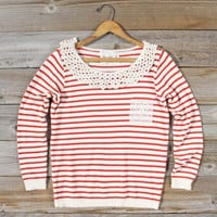 Anchors Away Sweatshirt, Sweet Bohemian Tops & Blouses