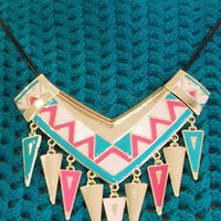 Candy Tribal Necklace from Tessies